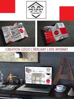 """Thème """"auto"""" Confiez-moi la création de votre logo, la conception de votre site internet et la réalisation de vos dépliants."""